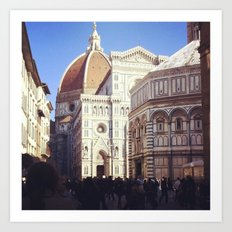 Firenze è dove sta! Art Print