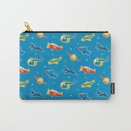 Cute plane pattern Carry-All Pouch