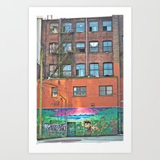 woodwards art Art Print