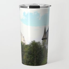 Fairytale Village - Lauterbrunnen Switzerland Travel Mug