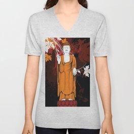 Vintage Buddha Unisex V-Neck