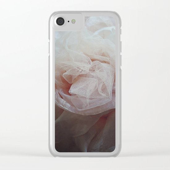 Abstract 234 Clear iPhone Case