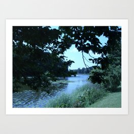 Lake Hackeberga  Art Print