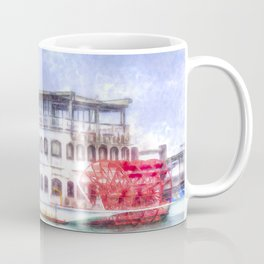 New Orleans Paddle Steamer Art Coffee Mug