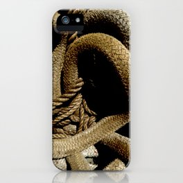 All Tied Up In Knots iPhone Case
