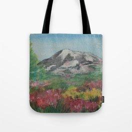 Syntaira's Mountain WC170307a Tote Bag