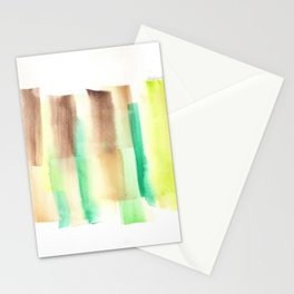 [161228] 18. Abstract Watercolour Color Study |Watercolor Brush Stroke Stationery Cards