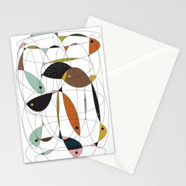 Fishing net Stationery Cards