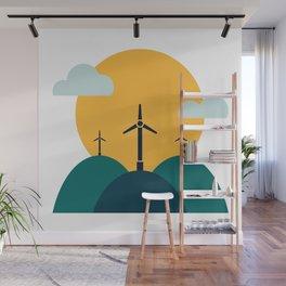 Wind Power Wall Mural