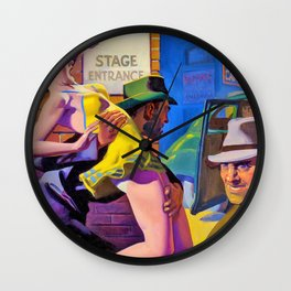Hugh Joseph Ward - Undercover Man - Digital Remastered Edition Wall Clock