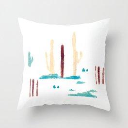 the desert IV Throw Pillow