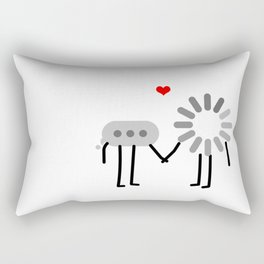 Loading Love Rectangular Pillow