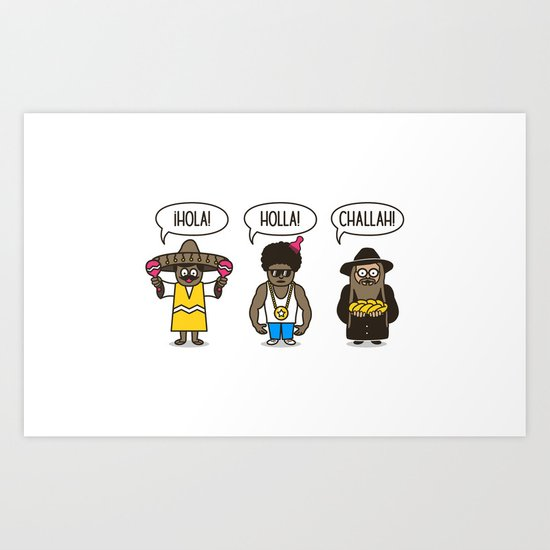 Holler At Your Boys Art Print