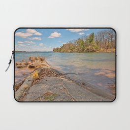 Wellesley Island Coastal Scenery Laptop Sleeve
