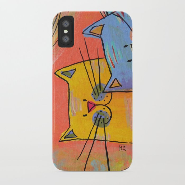 City cats iPhone Case
