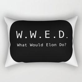 What Would Elon Do? Rectangular Pillow
