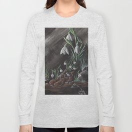 Snowdrop and a shoe Long Sleeve T-shirt