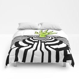 Ripplescape #1 Comforters
