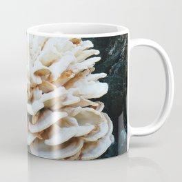 Rose like mushroom on old tree Coffee Mug