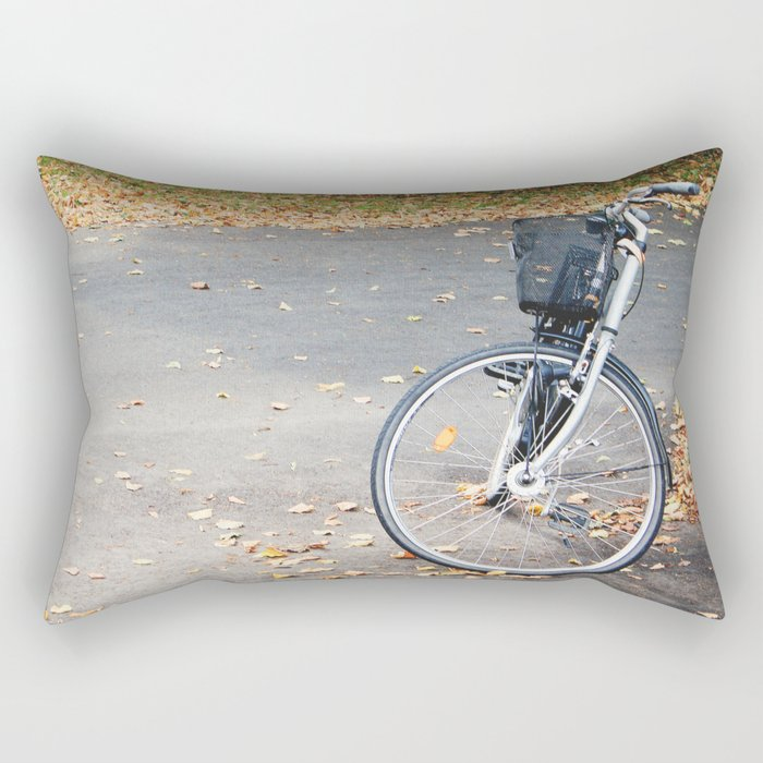 Autumn Bikes Rectangular Pillow