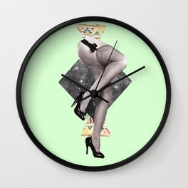Abstract Legs Wall Clock