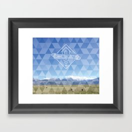 Summer Tapestry Framed Art Print