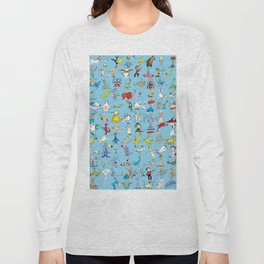 Dr. Seuss Characters Long Sleeve T-shirt