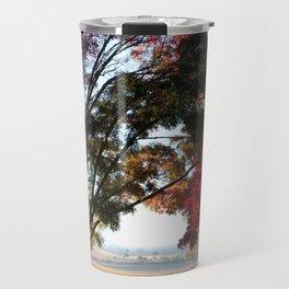 Australian Autumn Landscape Travel Mug