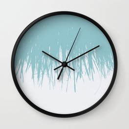 Fringe Salt Water Wall Clock