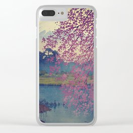 Bewilderment at Hainaan Clear iPhone Case