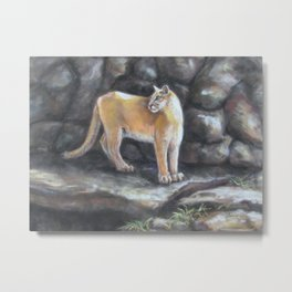 Puma: Sampson Metal Print
