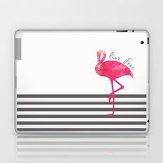 Live Free Flamingo  Laptop & iPad Skin