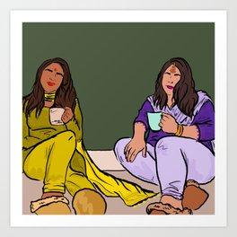 Chai Time Art Print