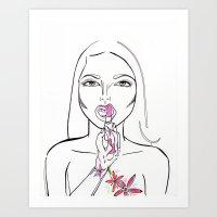 Reclaiming Sexy Art Print