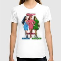 nicki T-shirts featuring The PowerPuff Girls by Tyler Simien