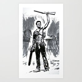 This is My Boomstick! Art Print