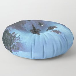 The Voyage Home Floor Pillow