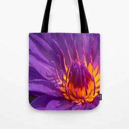 The Royal Water Lily Tote Bag