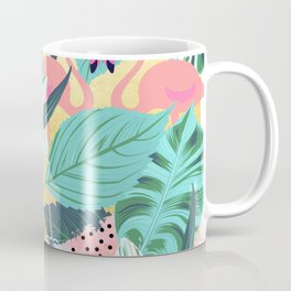 Flamingo Tropical #society6 #decor #buyart Coffee Mug