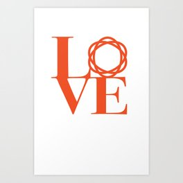 Saatchi Love Art Print