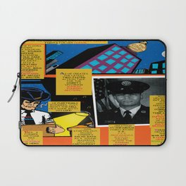 Bird of Steel Comix – 7 of 8 (Society 6 POP-ART COLLECTION SERIES) Laptop Sleeve