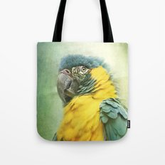 Bright parrot! Tote Bag