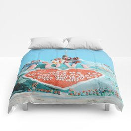 Salvation Mountain Comforters