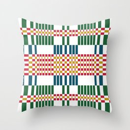 Vintage Baltic Pattern Throw Pillow