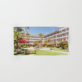 Coronado Hotel Courtyard Hand & Bath Towel