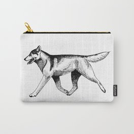 Siberian Husky Movement Study Carry-All Pouch