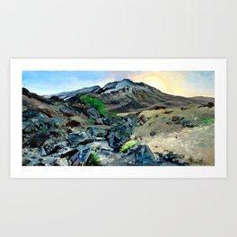Louwala-Clough (Mount St. Helens) - Oregon Art Print