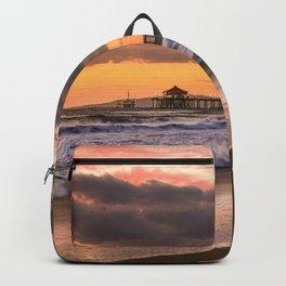 HB Sunset 12-31-18 Backpack