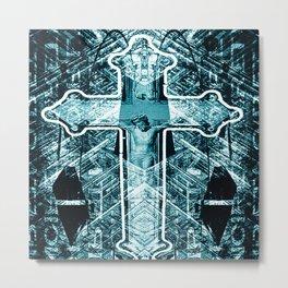 CROIXMOI Metal Print