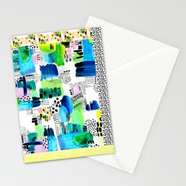 Playful Collage Stationery Cards